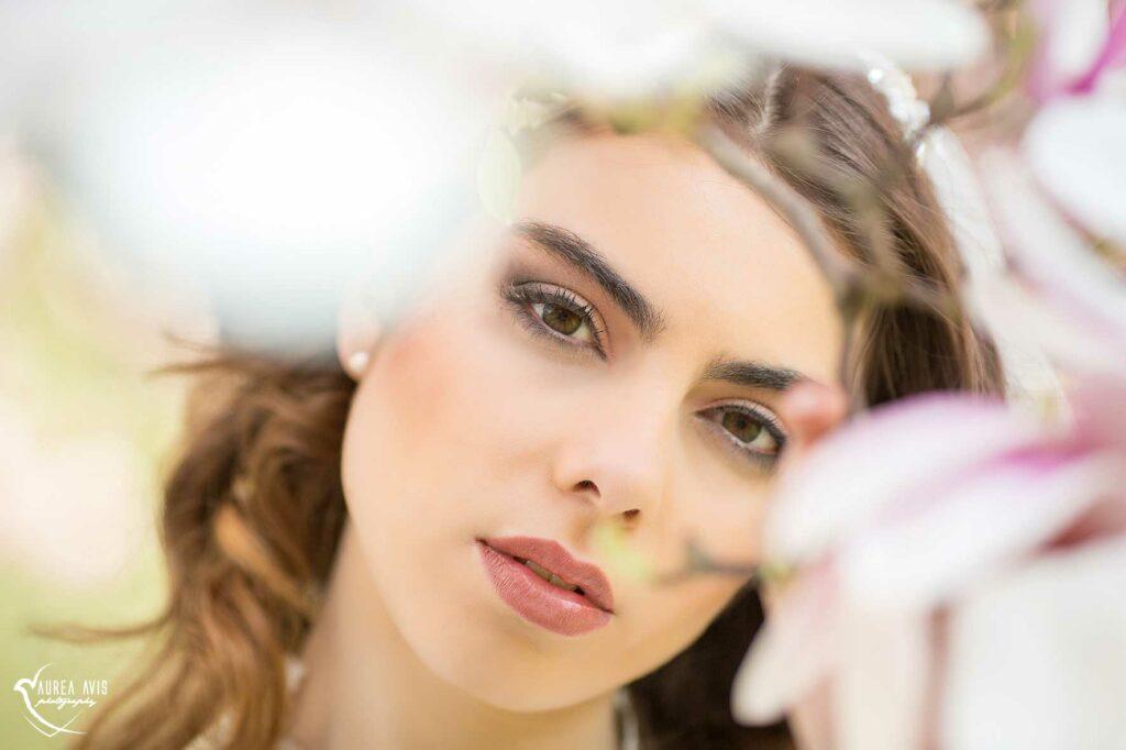 Sanftes Brautmakeup mit Airbrush