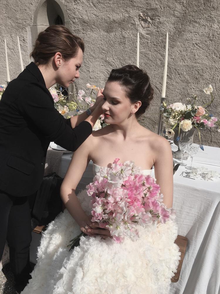 Deine Visagistin für Airbrush Hochzeitsmakeup in der Region Ostschweiz