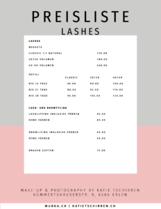 Lashlifting Browlifting Browlamination Lashextensions Wimpernverlängerung